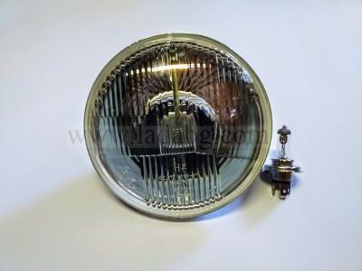 Lada Niva headlamp reflector with reflector