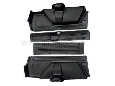 Luggage compartment lining 4 parts Lada Niva 1.6