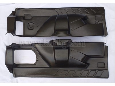 Trunk lining kit 2 pieces Lada Niva 21214