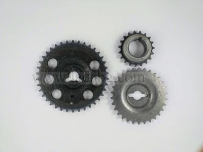 Timing wheels set 3pcs Lada Niva 21214 Kirov