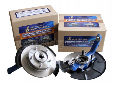 Front hubs reinforced 2 pieces (IVECO bearing) VAP Lada Niva