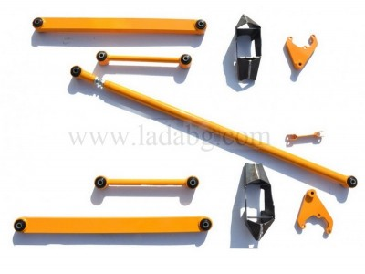Lada Niva 21214 and Lada Niva Urban body lift kit