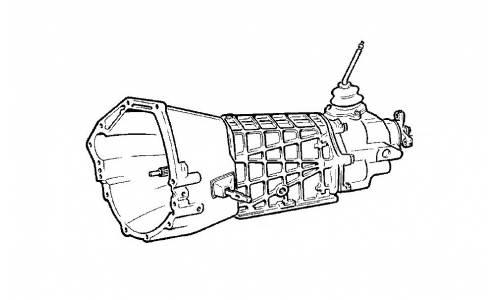 Gear box Lada Niva