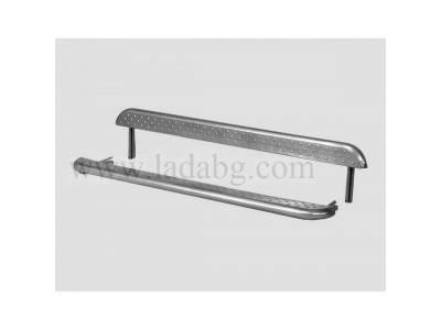 Thresholds with metal sheet step Lada Niva